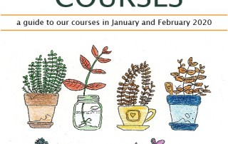 new courses front page